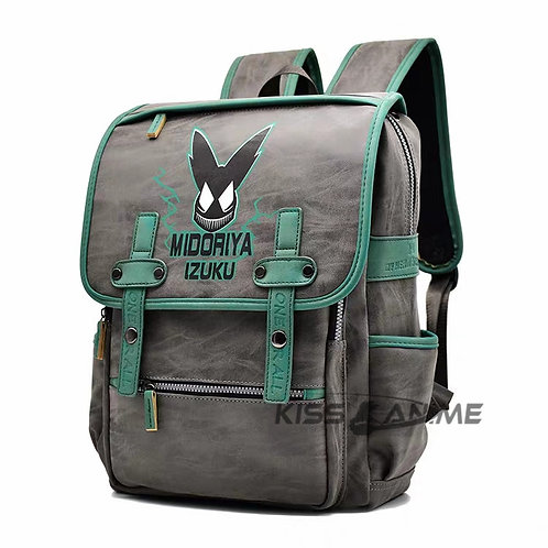 My Hero Academia Izuku Midoriya Backpack School Bag