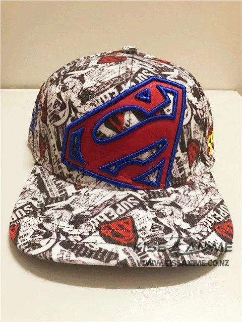 Superman Style Hat Snapback