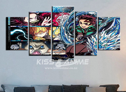 Demon Slayer: Kimetsu no Yaiba Canvas Painting