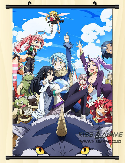 That Time I Got Reincarnated as a Slime Poster