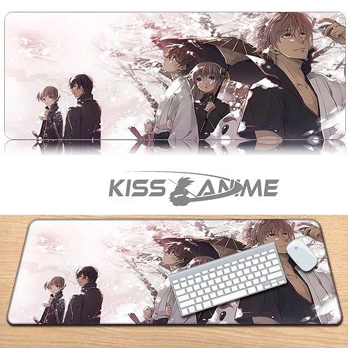 Gintama Mouse Pad Keyboard Pad