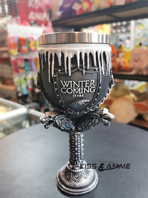 Game of Thrones Winter Is Coming Goblet