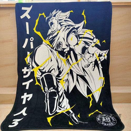Dragon Ball Super Saiyan 3 Blanket
