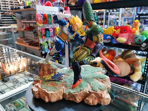 Dragon Ball Z 1/6 Scale Vegeta VS. Cell GK Resin Figure