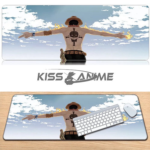 One Piece Mouse Pad Keyboard Pad