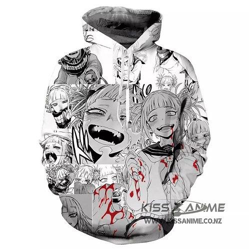 Unisex Hoodie My Hero Academia Himiko Toga Pullover Jacket Sweatshirt