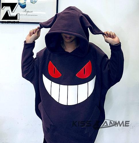 ZN Studio Pokemon Gengar Unisex Hoodie Cosplay Costume