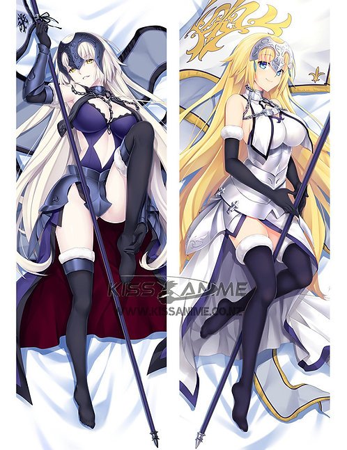 Fate Ruler Jeanne d'Arc Dakimakura Hugging Body Pillow Package