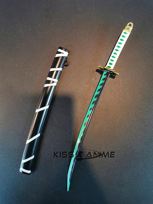 Demon Slayer: Kimetsu no Yaiba Sanemi Shinazugawa Sword Keychain
