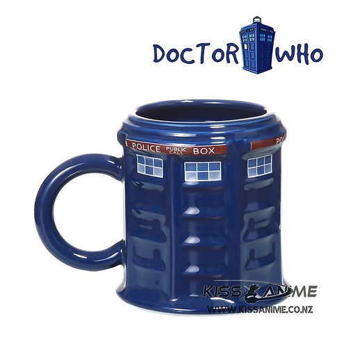 Doctor Who Public Call Box 3D Mug