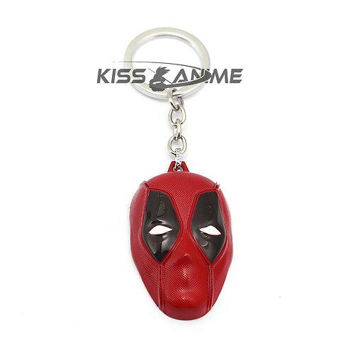 Deadpool Mask Keychain