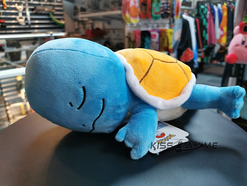 Pokemon Sleeping Squirtle Plush Doll