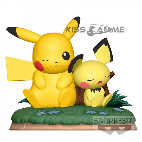 Pokemon Pikachu and Pichu
