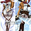 Thumbnail: Attack On Titan Mikasa Ackerman Dakimakura Hugging Body Pillow Package