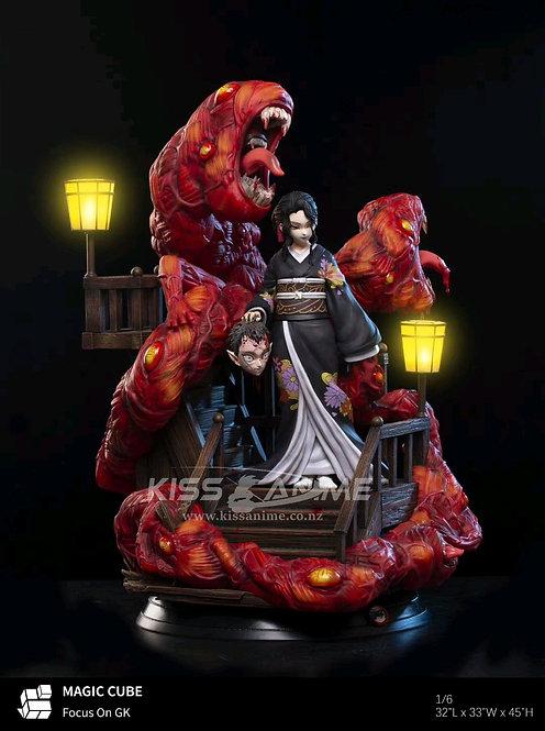 PRE-ORDER MAGIC CUBE Studio Demon Slayer Boss Kibutsuji Muzan  Resin Figure 1/6
