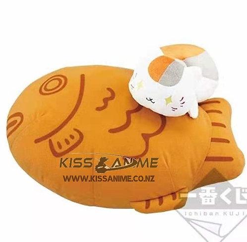 Ichiban Kuji Nyanko-Sensei and Squid Burning Plush Toy