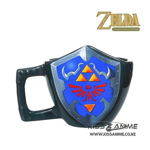 The Legend Of Zelda Triforce Shield 3D Mug
