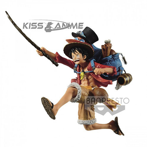One Piece - Three Brothers Monkey D. Luffy