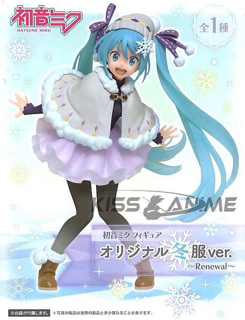 Vocaloid Hatsune Miku (Original Winter Clothes Ver.) Renewal Figure