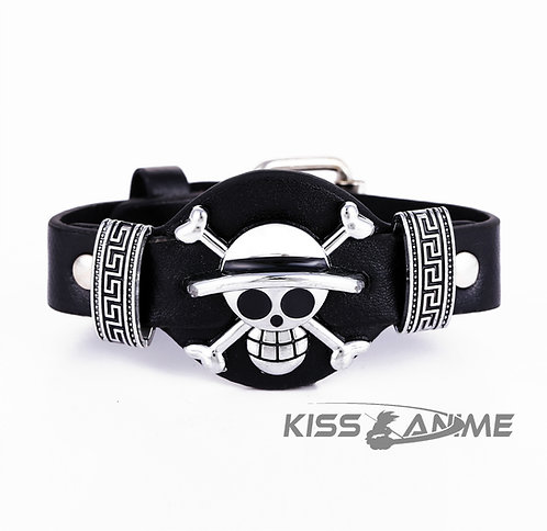 One Piece PU Leather Bracelet