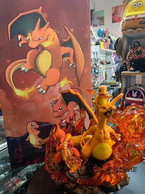 EGG studio - Pokemon GO Charmander Family GK Resin Statue