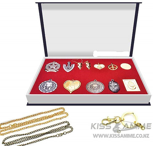 JoJo's Bizarre Adventure Necklace Pendant Gift Set(12pcs)