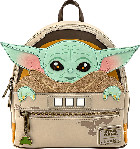 Loungefly Star Wars: The Mandalorian - The Child Cradle Mini Backpack