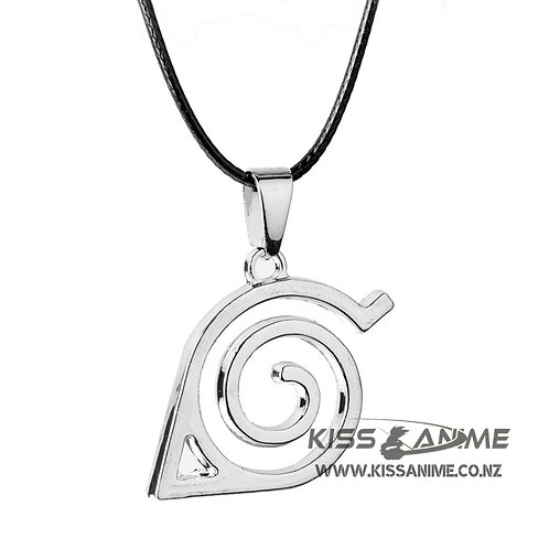 Naruto Konoha Symbol Pendant Necklace