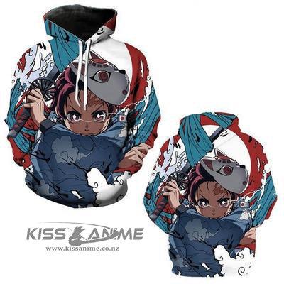Demon Slayer Tanjiro Kamado  Pullover Jacket Sweatshirt
