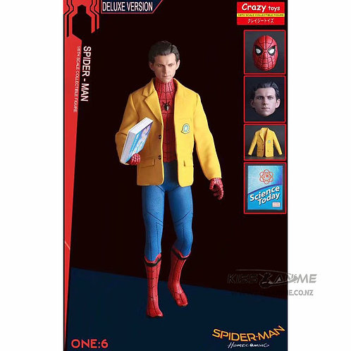 Crazy Toys Marvel Homecoming Spider-man 1/6th Scale Figure