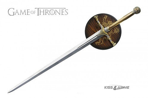 Game of Thrones Swords Jaime Lannisters Sword with Plaque