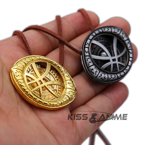 Marvel Avengers Doctor Strange Infinity Time Stones Necklace(3 colors��