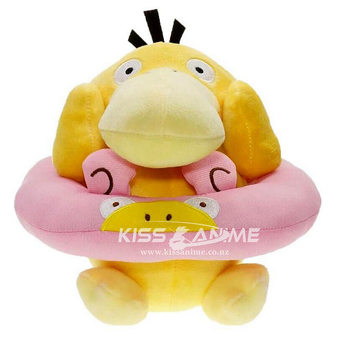 Pokemon Swimming Ring Psyduck Psyduck Plush Doll Toys