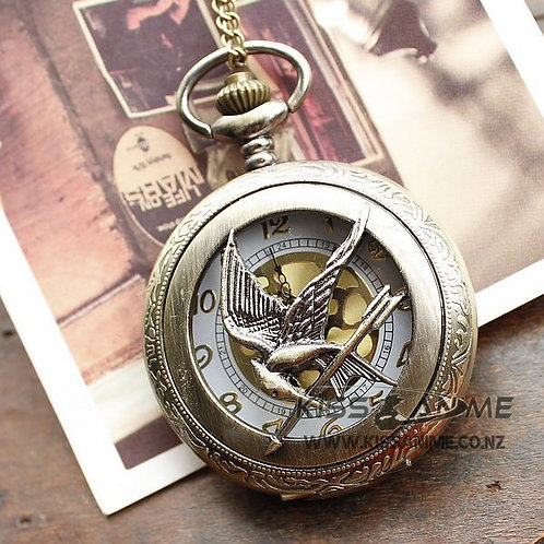The Hunger Games Pendant Pocket Watch