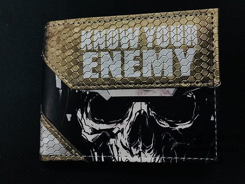 Call of Duty Ghosts  Know Your Enemy Wallet