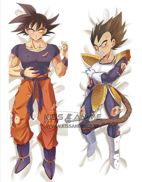 Dragonball Goku and Vegeta Dakimakura Hugging Body Pillow