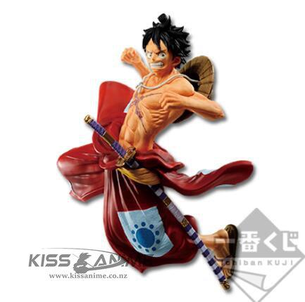Bandai Ichiban Kuji One Piece Full Force Luffytaro Figure