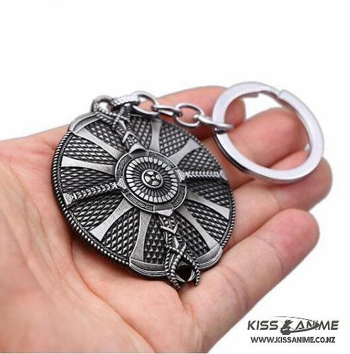 God of War Shield Keychain