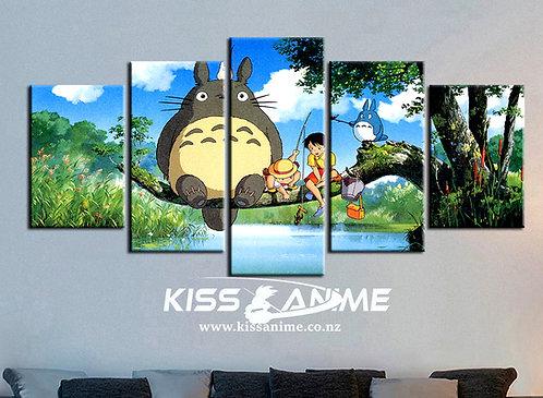 My Neighbor Totoro  Canvas Painting
