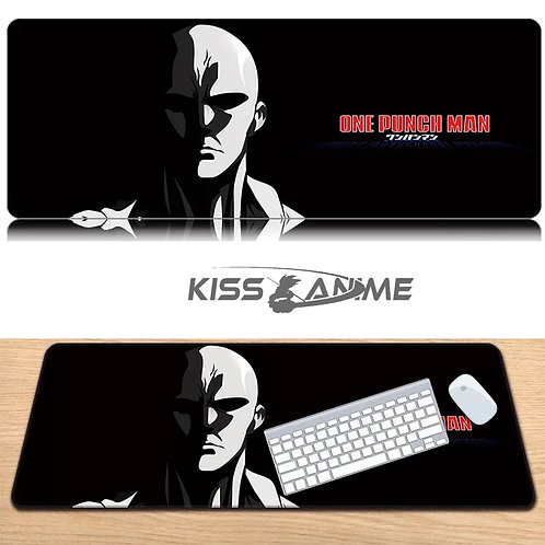 One Punch Man Mouse Pad Keyboard Pad