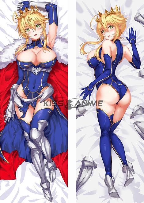Fate Grand Order FGO Lancer Artoria Pendragon Dakimakura Hugging Body Pillow