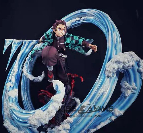 Demon Slayer Kamado Tanjirou Resin Statue Crossroad Studio