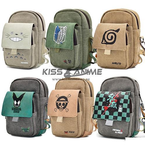 Anime Mini Messenger Bag