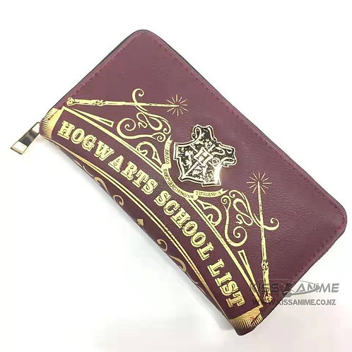Harry Potter Hogwarts Long Wallet