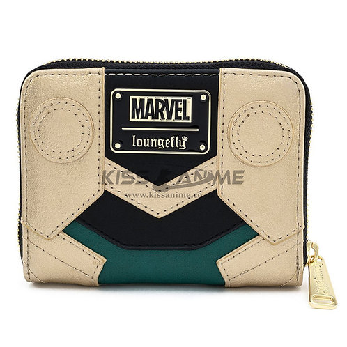 Marvel Loki Classic Zip-Around Wallet