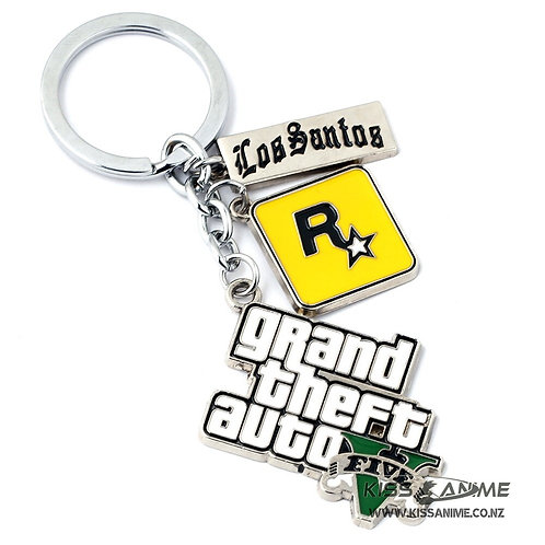Grand Theft Auto V Keyring