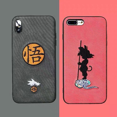 Dragon Ball Embroidered Goku Phone Case