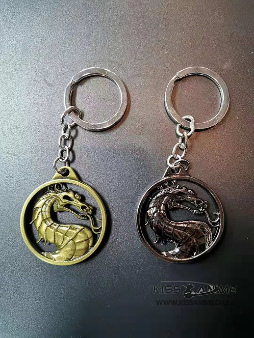 Mortal Kombat Dragon Symbol Keychains