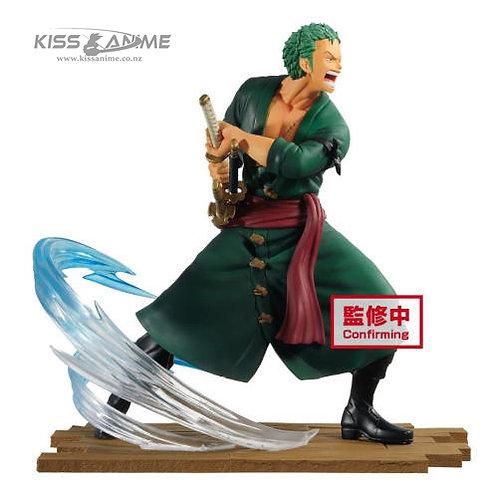 One Piece Log File Selection Fight Vol. 1 Roronoa Zoro Figure