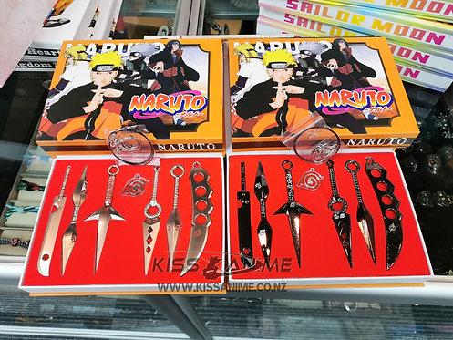 Naruto Kunai Metal Weapons Set (7pcs)
